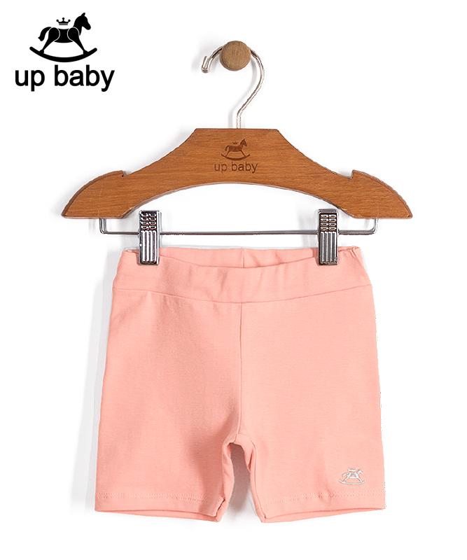 ■30% OFF■ 【UP BABY】女の子ショート丈レギンスパンツ【インナースパッツ・レギンス】|ベビーピンク