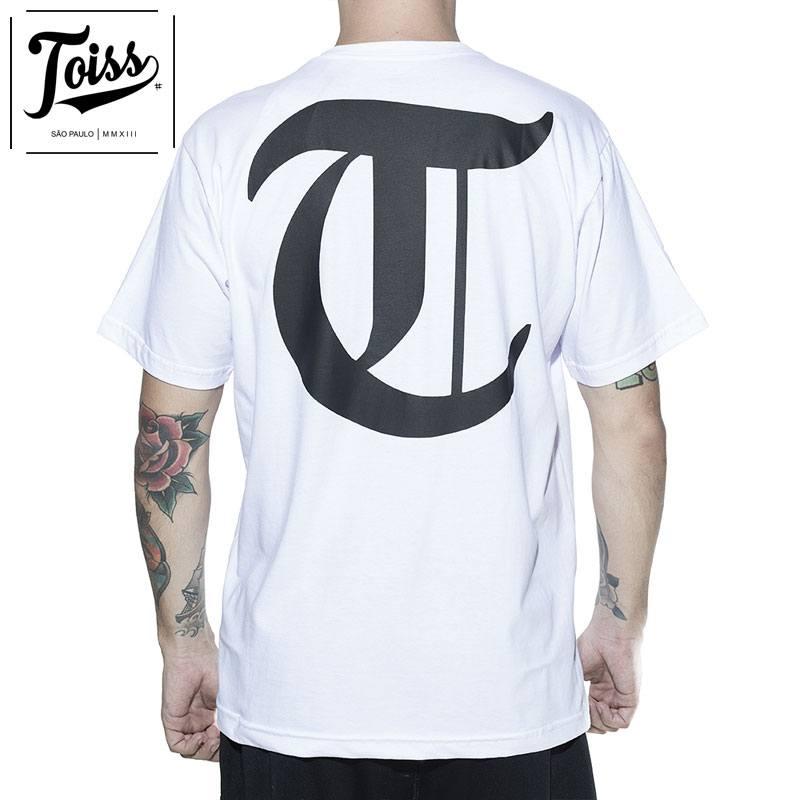 【TOISS】TロゴTシャツ ネイマール愛用ブランド| ホワイト
