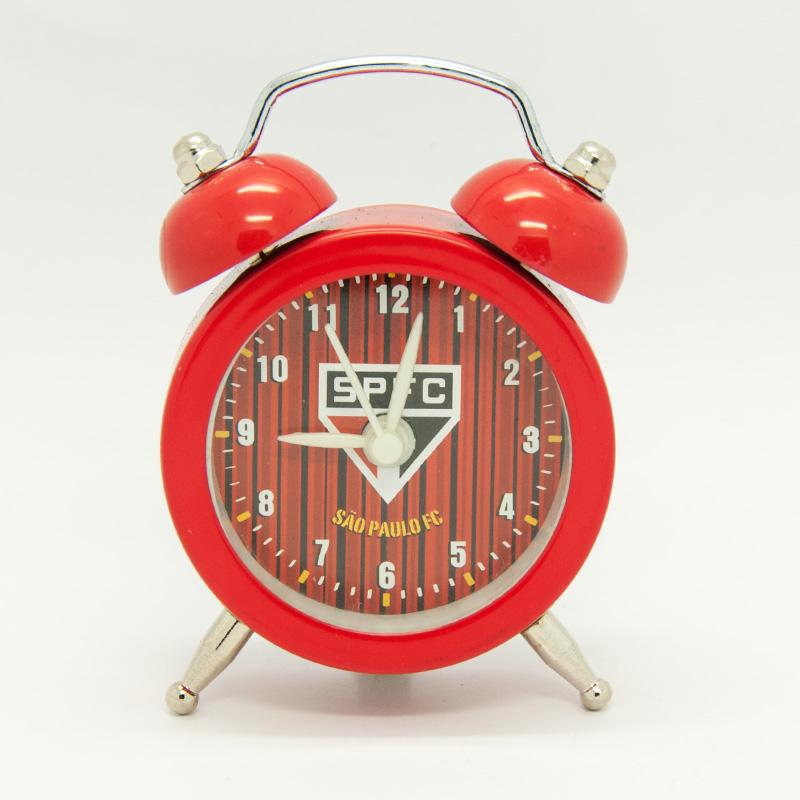 サンパウロ【小型目覚まし時計】ボタン電池入り SAO PAULO公式グッズ