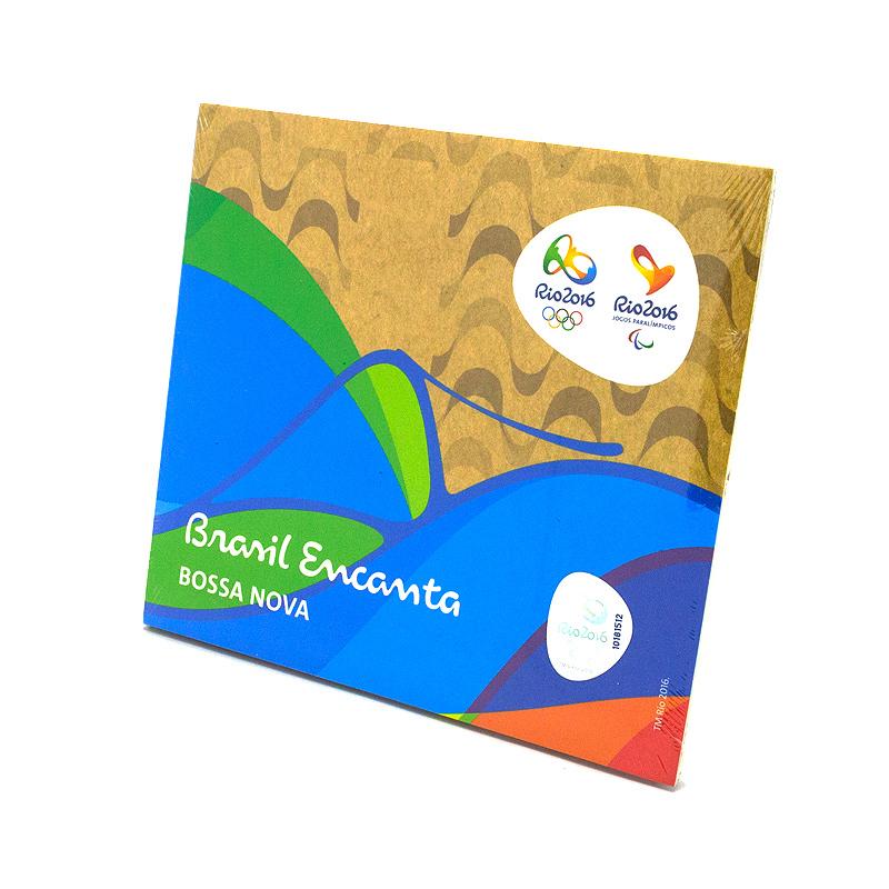 リオオリンピック公式ボサノヴァCD【Brasil Encanta】BOSSA NOVA全14曲