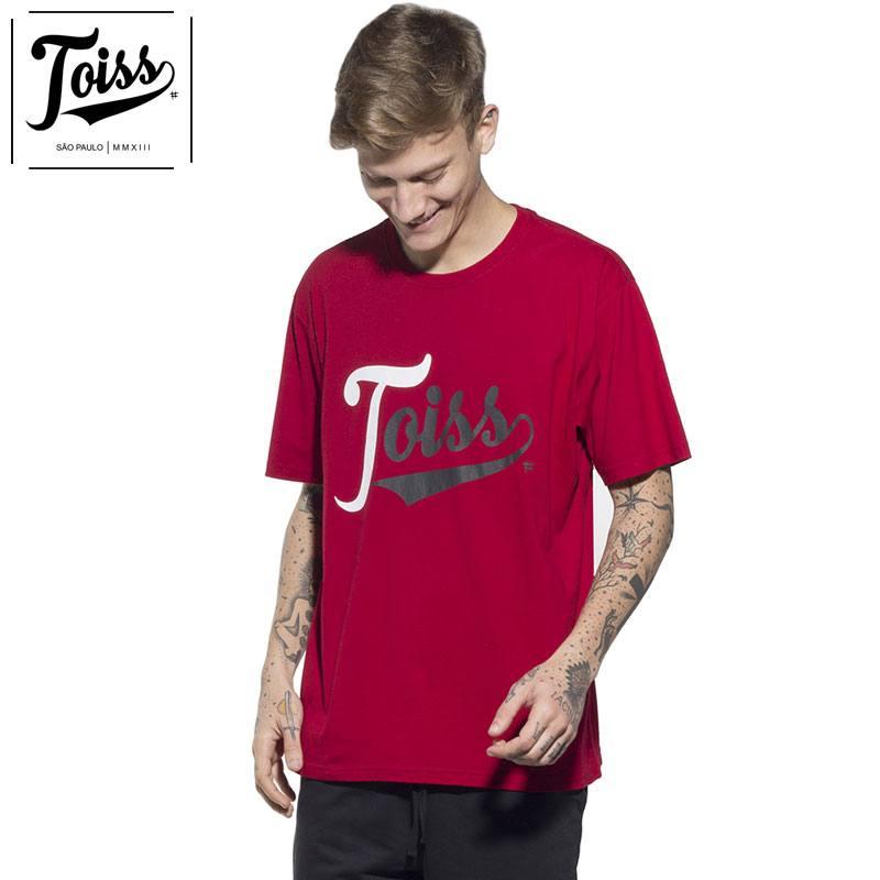 【TOISS】トイスTred ロゴTシャツ レッド ネイマールブランド