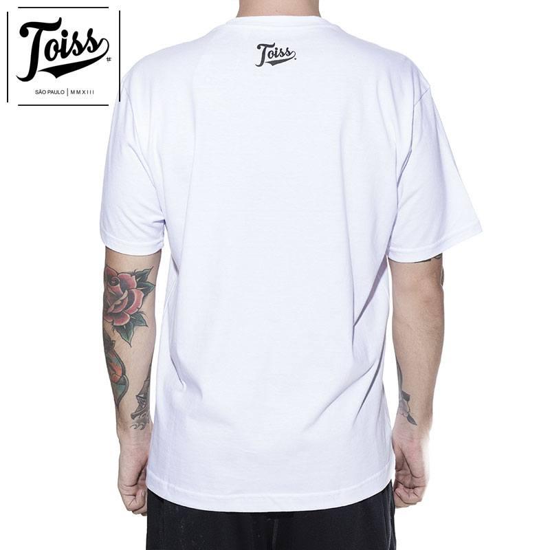 【TOISS】トイス スラングTシャツ FALADOR PASSA MAL  | ホワイト