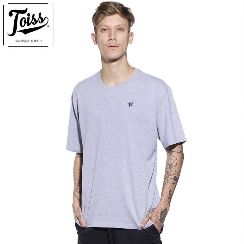 【TOISS】#レジェンダバックプリントTシャツ グレー ネイマールブランド