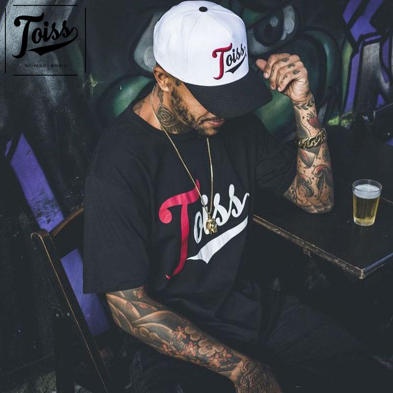 【TOISS】トイスTred ロゴTシャツ ブラック ネイマールブランド