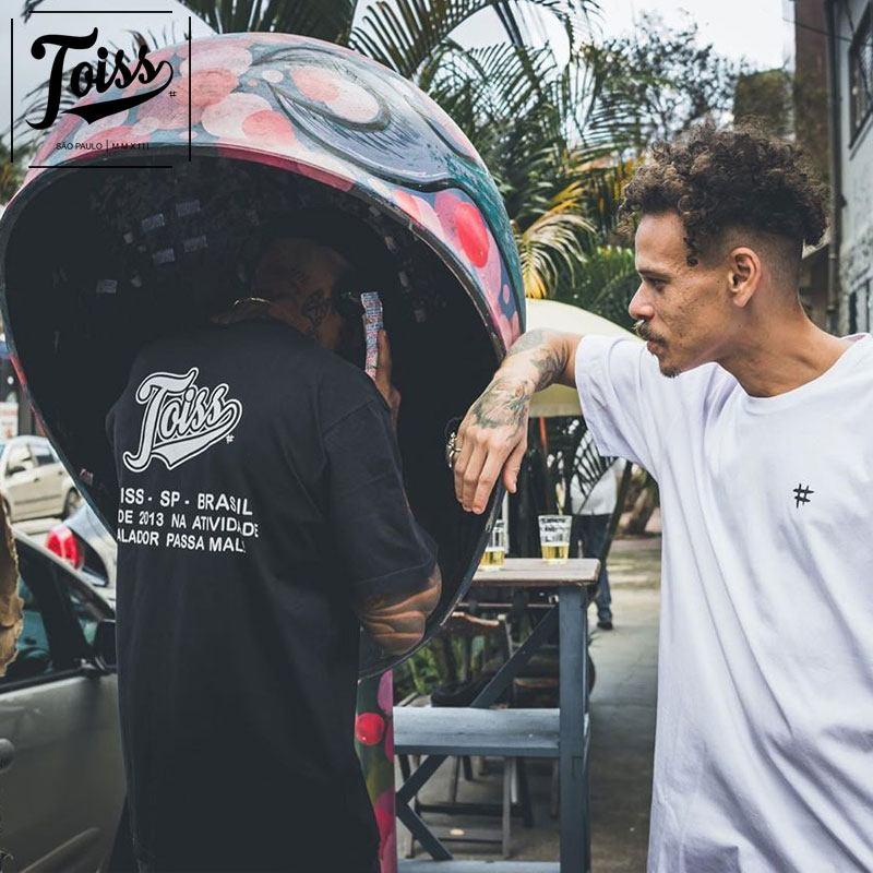 【TOISS】#レジェンダバックプリントTシャツ ブラック ネイマールブランド