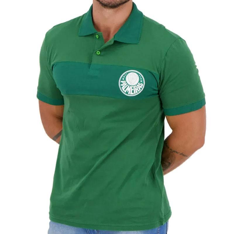 パルメイラス襟付きポロTシャツ【PALMEIRAS公式】グリーン