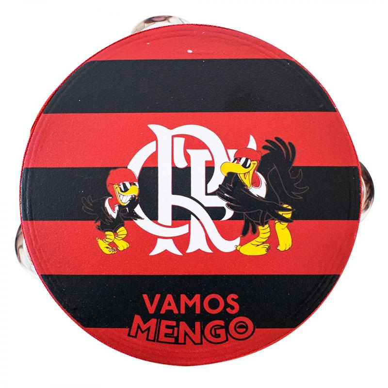 フラメンゴFC パンデイロ タンバリン【FLAMENGO】 レッド