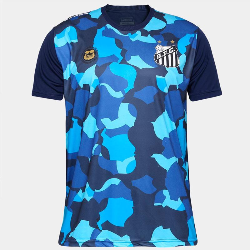 サントスFC|トレーニングTシャツ【SANTOS FC公式】練習着 ブルー