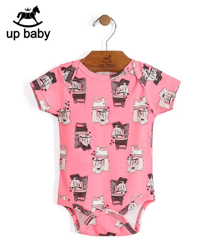 ■30%OFF■【UP BABY】女の子ベビーギフト3点セット【ベビー服・出産祝い・ギフトにぴったり】スイーツプリント