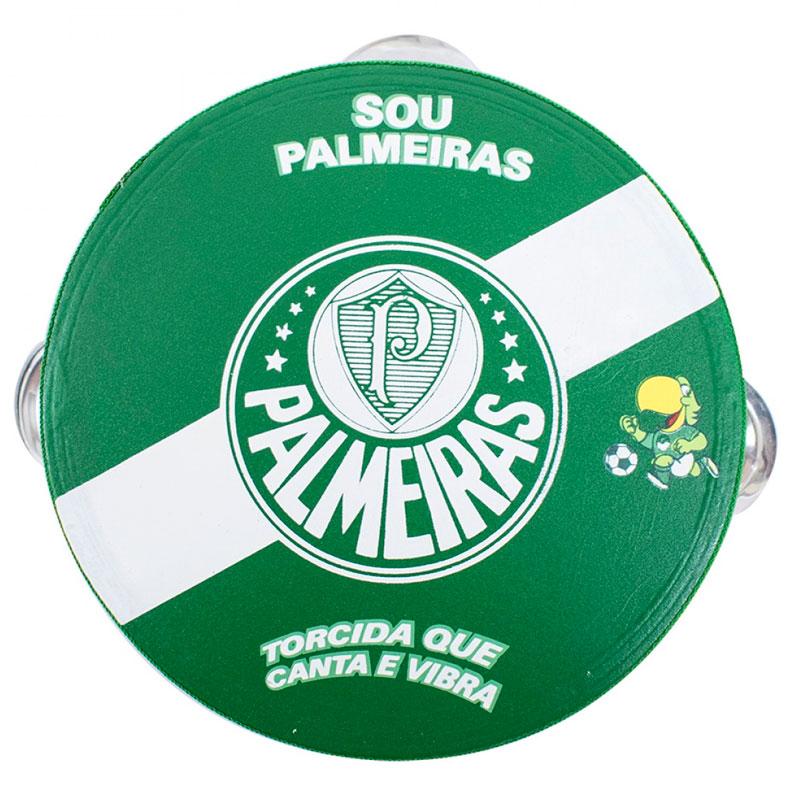パルメイラス パンデイロ 木製タンバリン【PALMEIRAS】グリーン