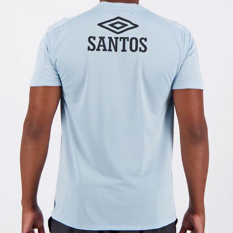 サントスFC公式練習着 トレーニングシャツ【SANTOS FC】ブルー umbro