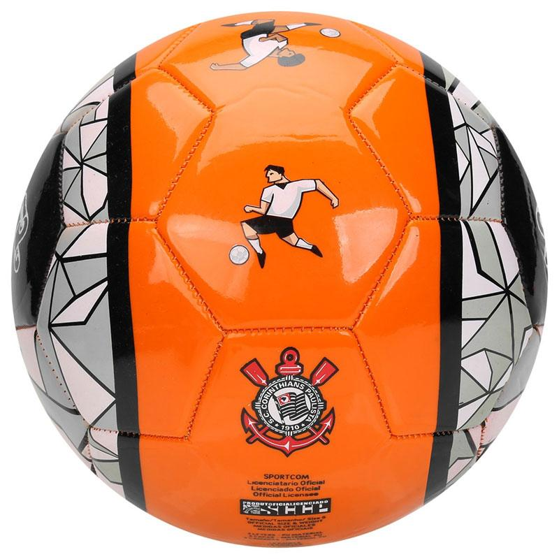 コリンチャンス5号球サッカーボール【CORINTHIANS公式】 オレンジ