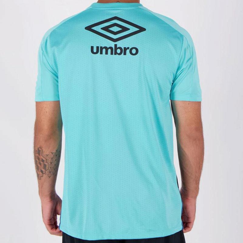 グレミオ公式練習着 スポンサー入りトレーニングシャツ【GREMIO】ターコイズブルー umbro