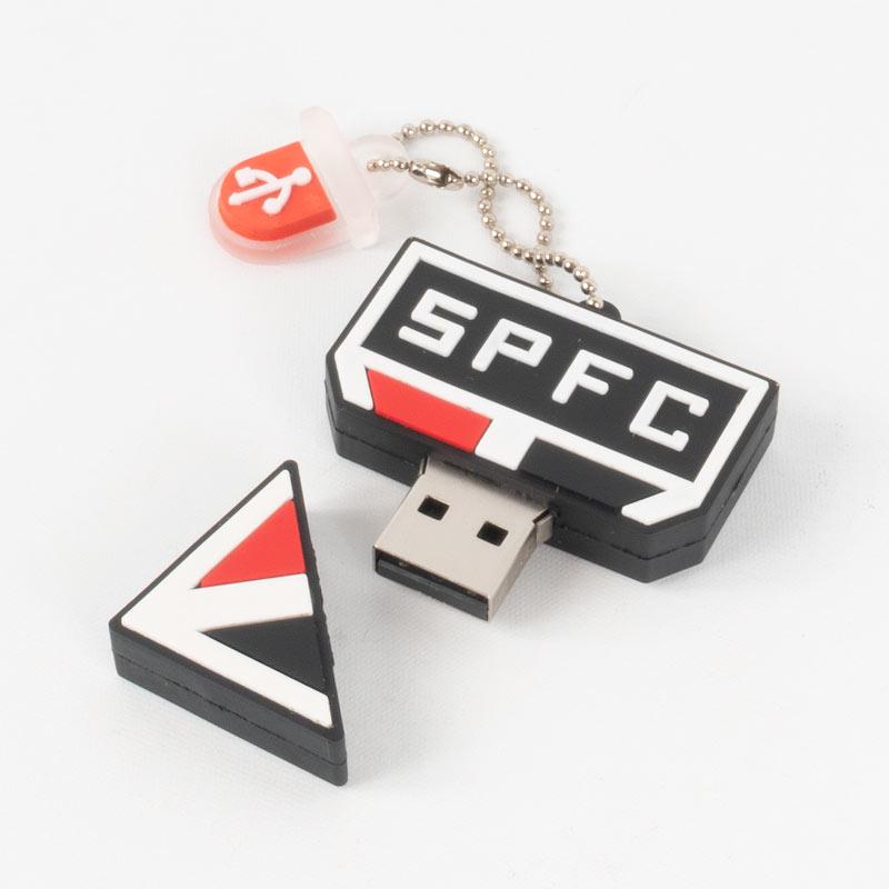 サンパウロFC USBメモリー【SAO PAULO】キーホルダータイプ   32GB