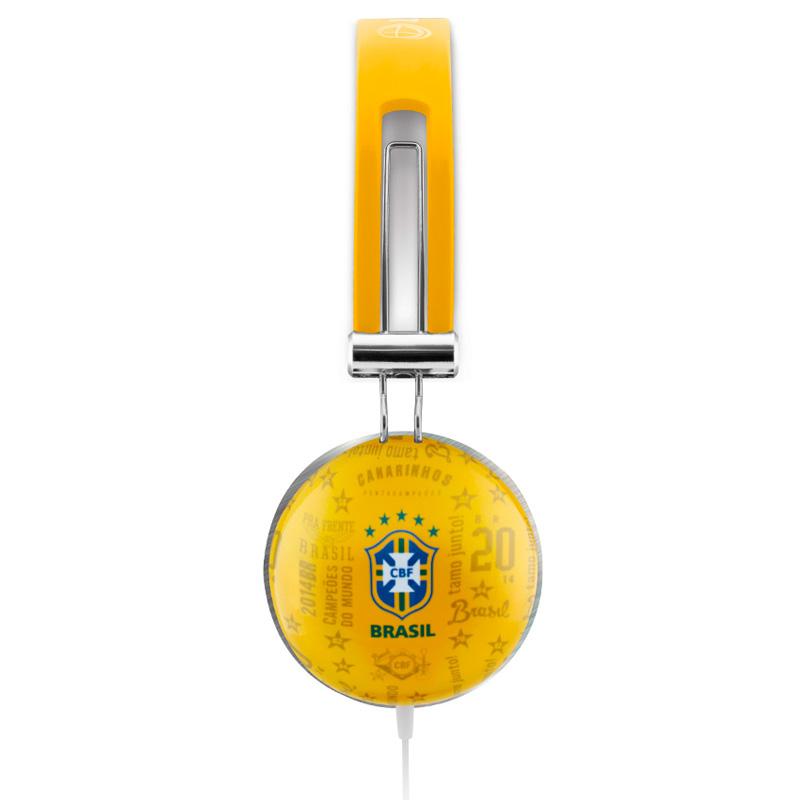 ヘッドホン【ブラジル代表公式グッズ】iPhone,iPad,iPod対応