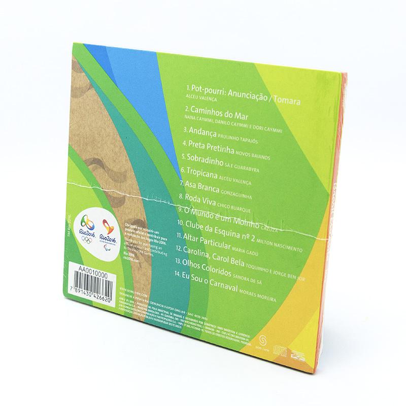 リオオリンピック公式エミペーベーCD【Brasil Encanta】MPB全14曲