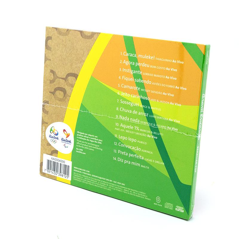 リオオリンピック公式ブラジルポップCD【Brasil Encanta】BRAZILIAN POP全14曲
