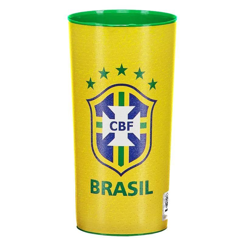 ブラジル代表エンブレムデザインコップ 公式グッズ
