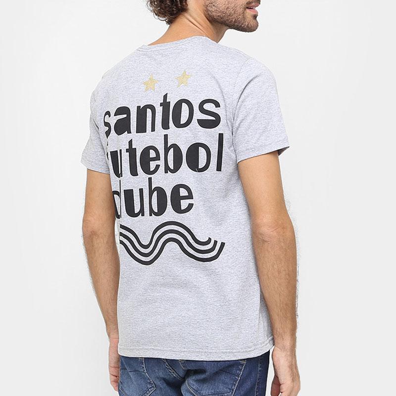 サントスFCデザインTシャツ【SANTOS FC公式】グレー
