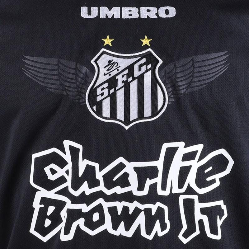 サントスFC アウェイ公式ユニフォーム SANTOS FC umbro ブラック×ホワイト