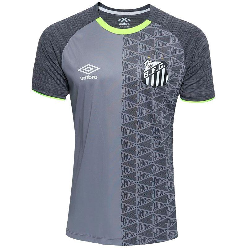 サントスFC トレーニングウェア 公式練習着 SANTOS FC umbro グレー