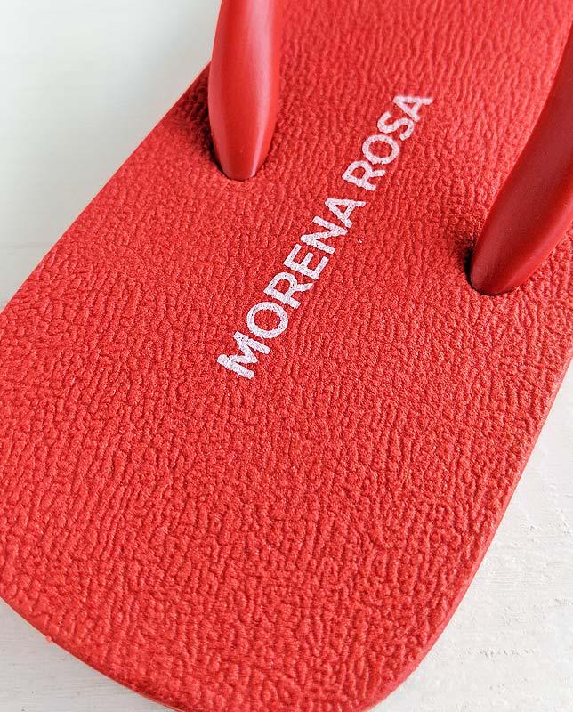 ■20%OFF■【Morena Rosa】レッドビーチサンダル