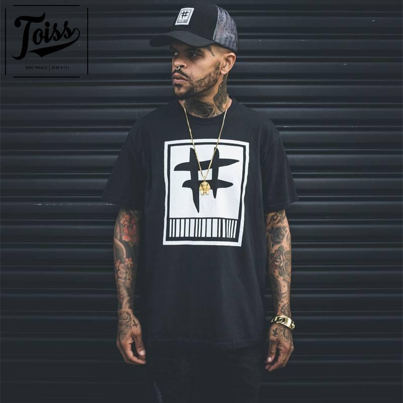 【TOISS】トイス#バーコードTシャツ ブラック ネイマールブランド
