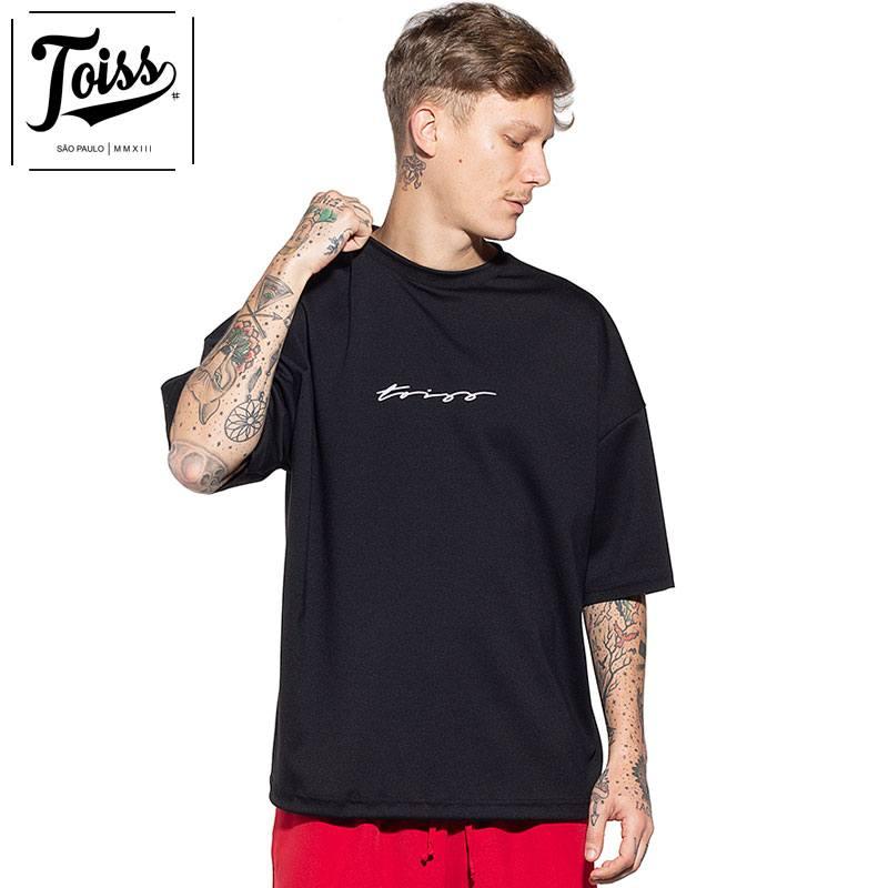 【toiss】トイスモレトン スウェットTシャツ ブラック ネイマールブランド