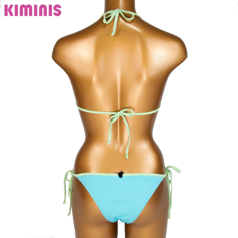 【KIMINIS】キミニス パステルカラートライアングルビキニ/水着