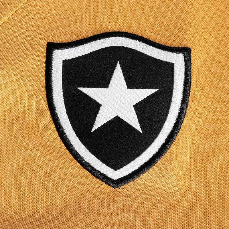 ボタフォゴ スポンサー付きユニフォーム【ブラジルリーグ】ブラック×ゴールド