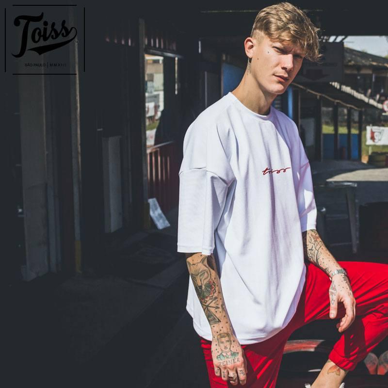 【toiss】トイスモレトン スウェットTシャツ ホワイト ネイマールブランド