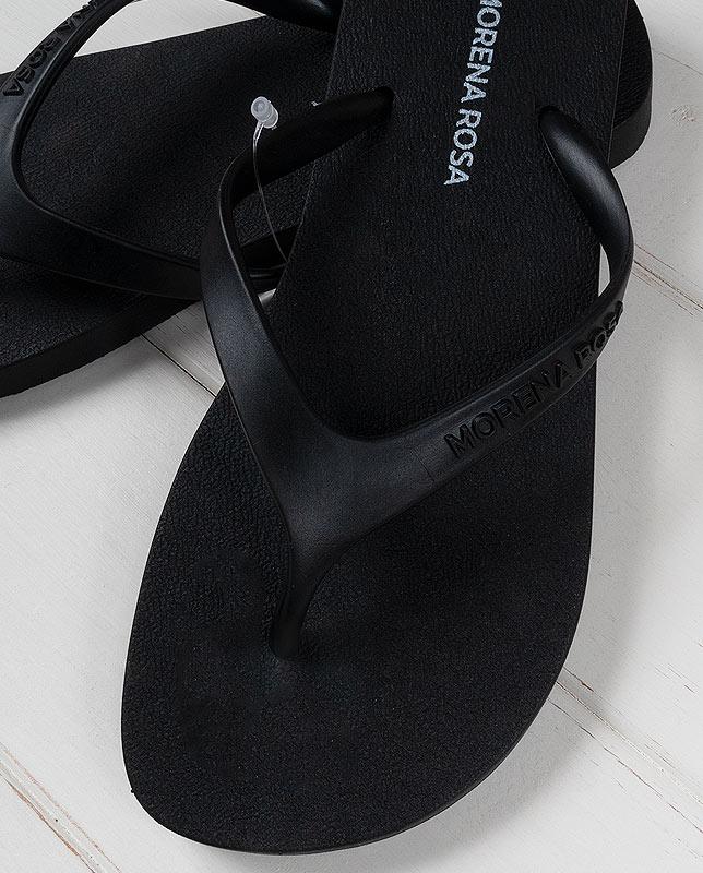 【Morena Rosa】シンプルブラックビーチサンダル