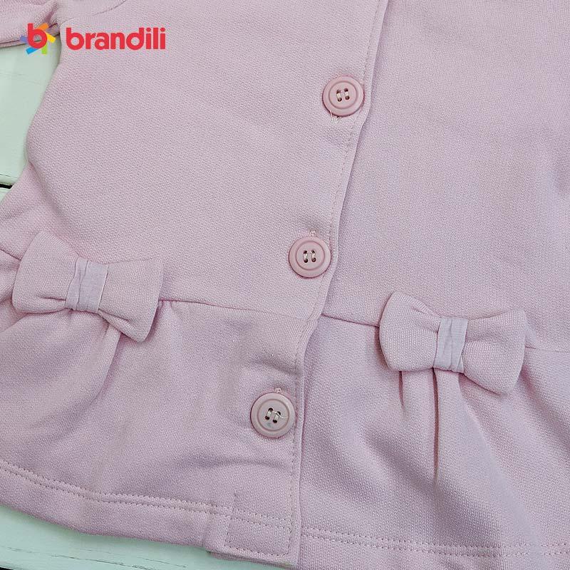 ■30%OFF■【BRANDILI】女の子フード付き長袖ジャケット&レギンスセット子供服・おしゃれ着|ピンク×ピーコックグリーン