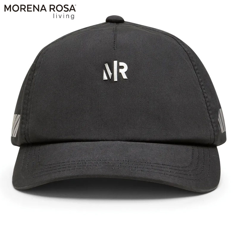 【Morena Rosa Living】MRロゴブラックキャップ カーブタイプ 帽子