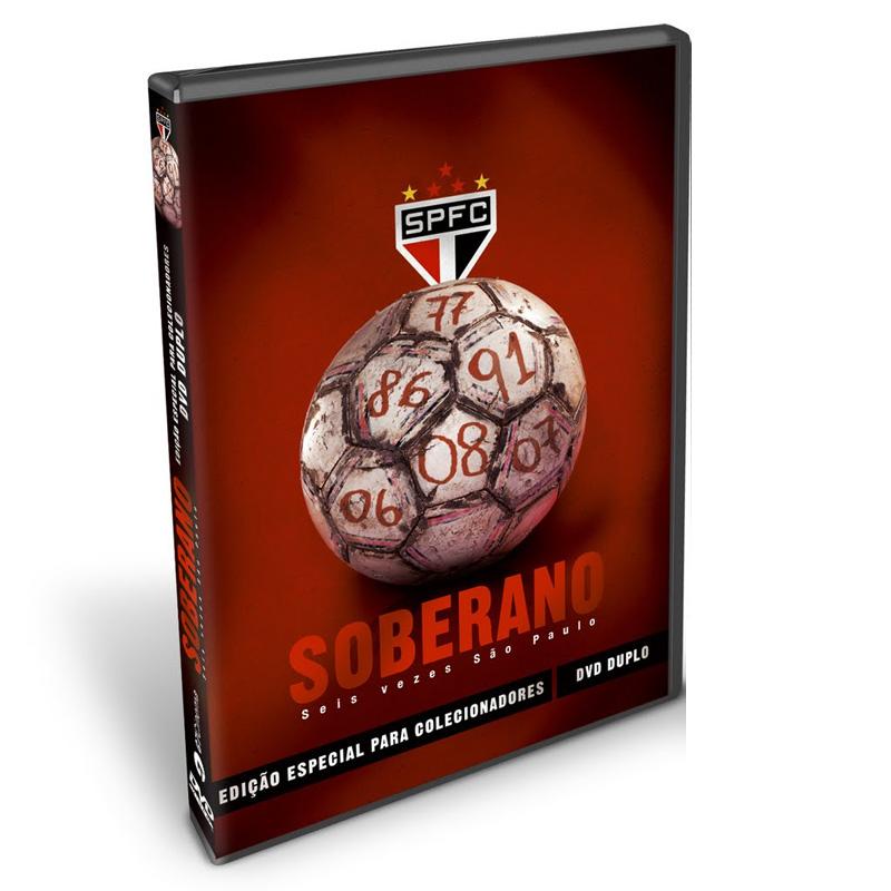■50%OFF■サンパウロ DVD2枚組【SOBERANO】ブラジルリーグ優勝6回分!!SAO PAULO