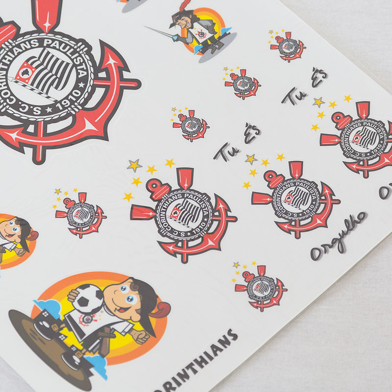 コリンチャンス公式BIGステッカー【ブラジルリーグ】