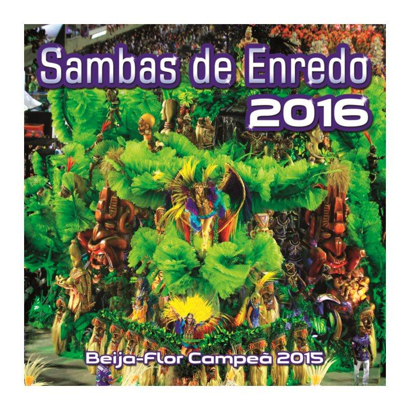 【訳あり特価】サンバCDリオのカーニバル【SAMBAS DE ENREDO 2016】
