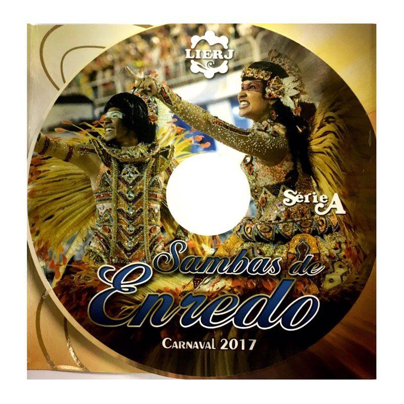 サンバCDリオのカーニバル【SAMBAS DE ENREDO 2017 Serie A】