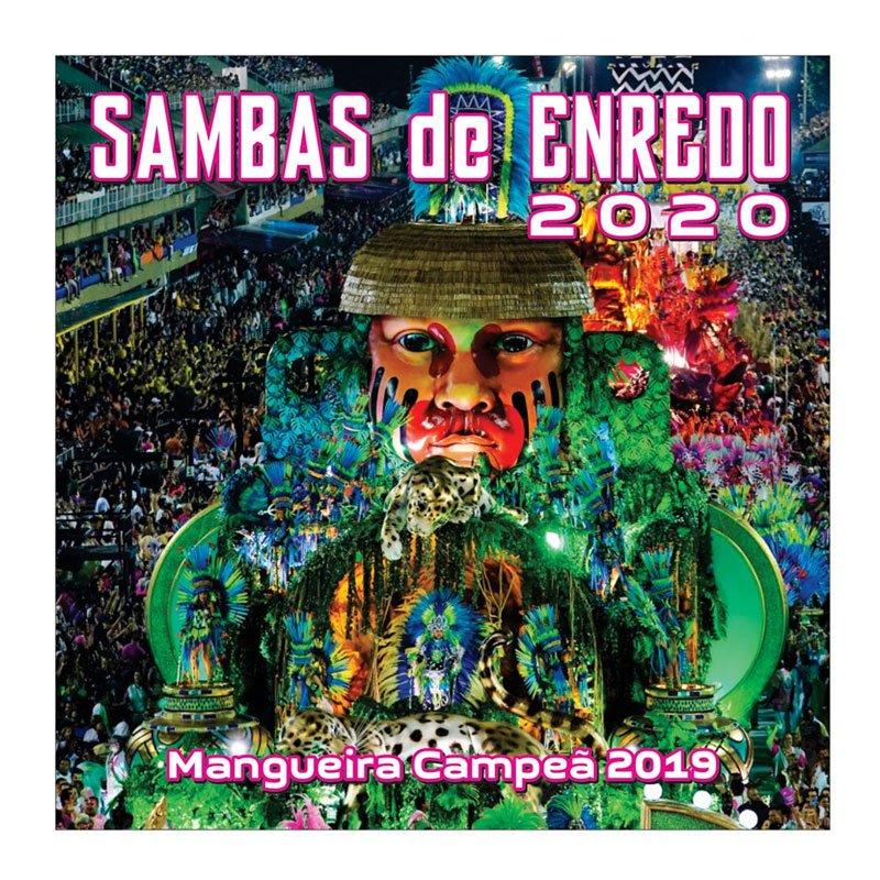 サンバCDリオのカーニバル【SAMBAS DE ENREDO 2020】