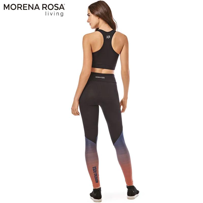【Morena Rosa Living】グラフィックグラデーションハーフトップ マルチ