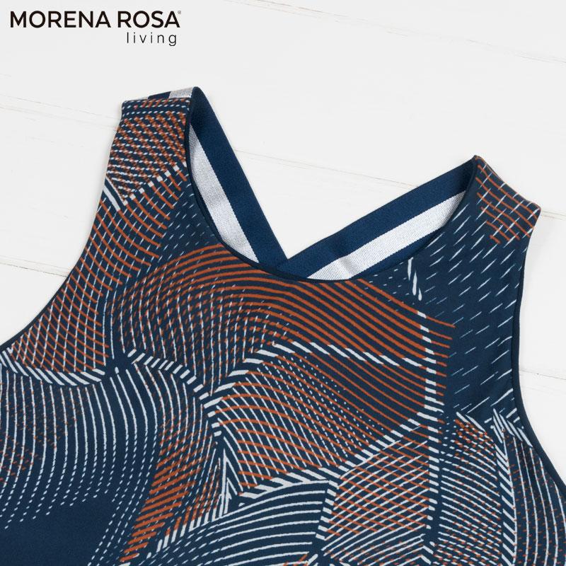 【Morena Rosa Living】2wayリバーシブルトレーニングトップス ネイビーマルチ