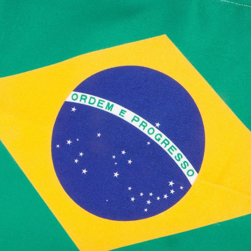 ブラジル国旗柄 A4サイズ対応 両面デザイン ショルダートートバッグ