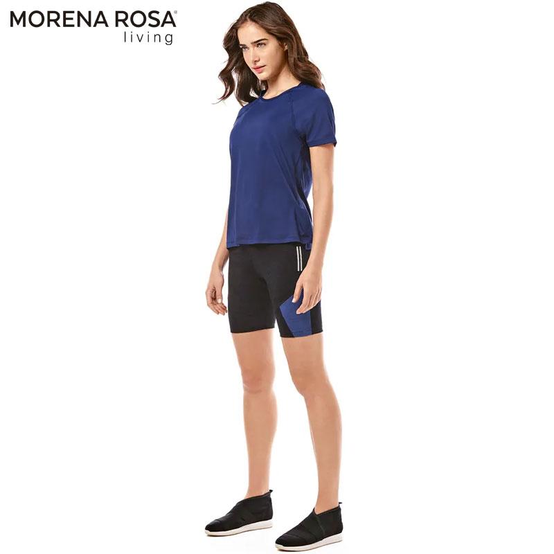 【Morena Rosa Living】ワンカラー速乾リラックスTシャツ ネイビー