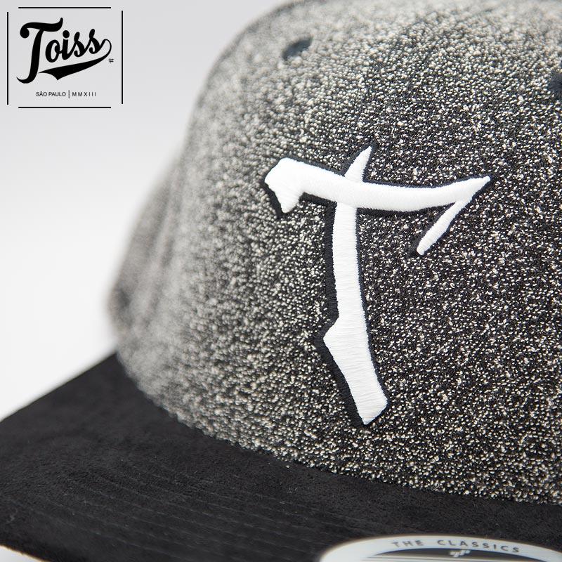 【TOISS】Tツイードスナップバックキャップ|ネイマール愛用【トイスキャップ】ダークグレー