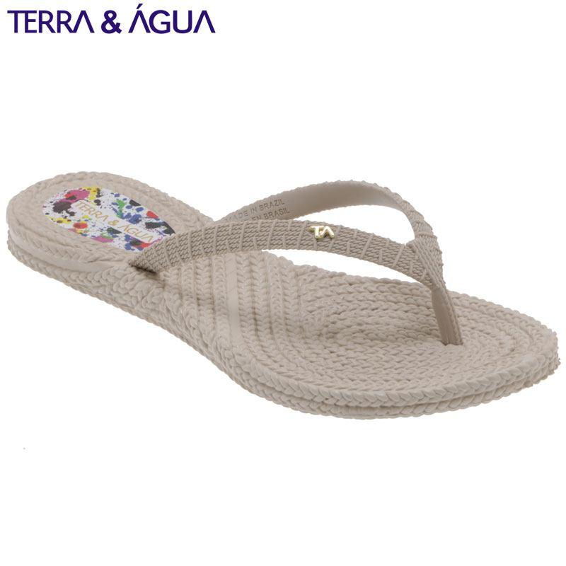 【TERRA&AGUA】リゾートビーチサンダル|ベージュ