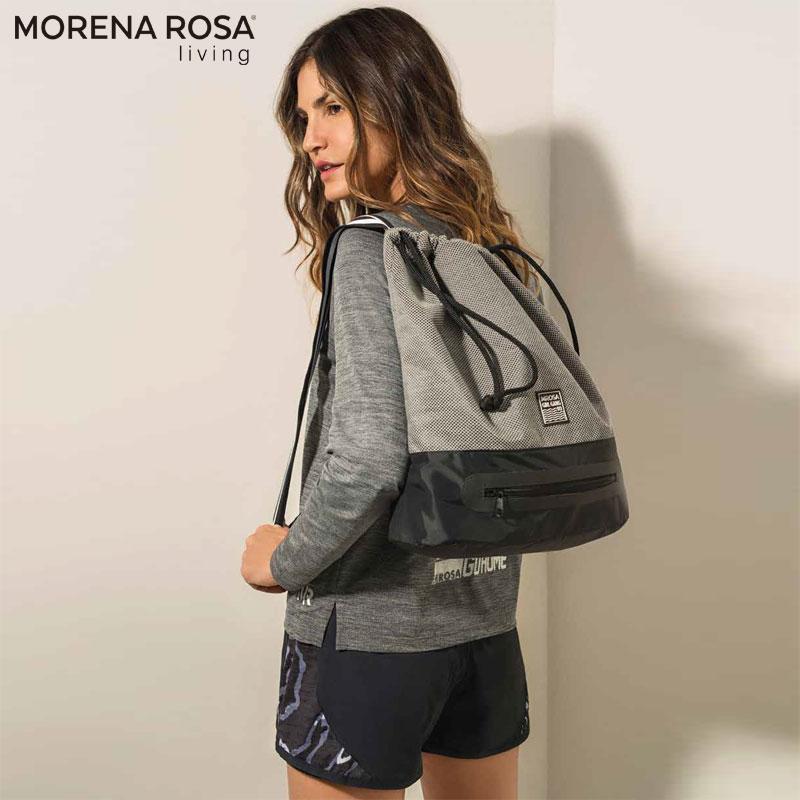 【Morena Rosa Living】 トレーニングジムバッグ シークレットポケット付