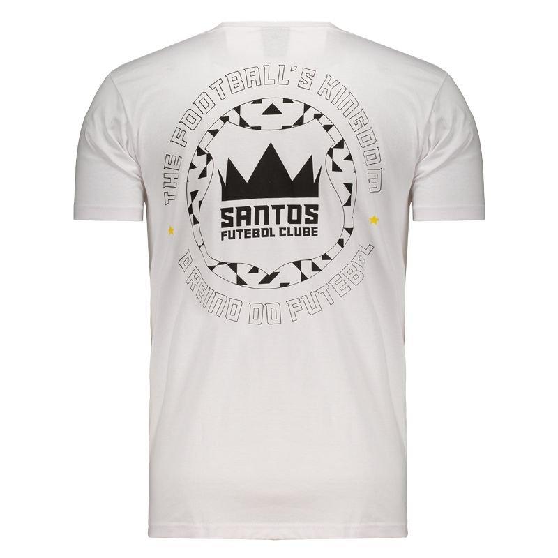 サントスFC バックデザイン公式Tシャツ SANTOS FC ホワイト