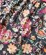 ■今だけ半額セール!■【QUIMBY】女の子ボレロ付きワンピース【花柄・おしゃれ】ピンク×チャコール