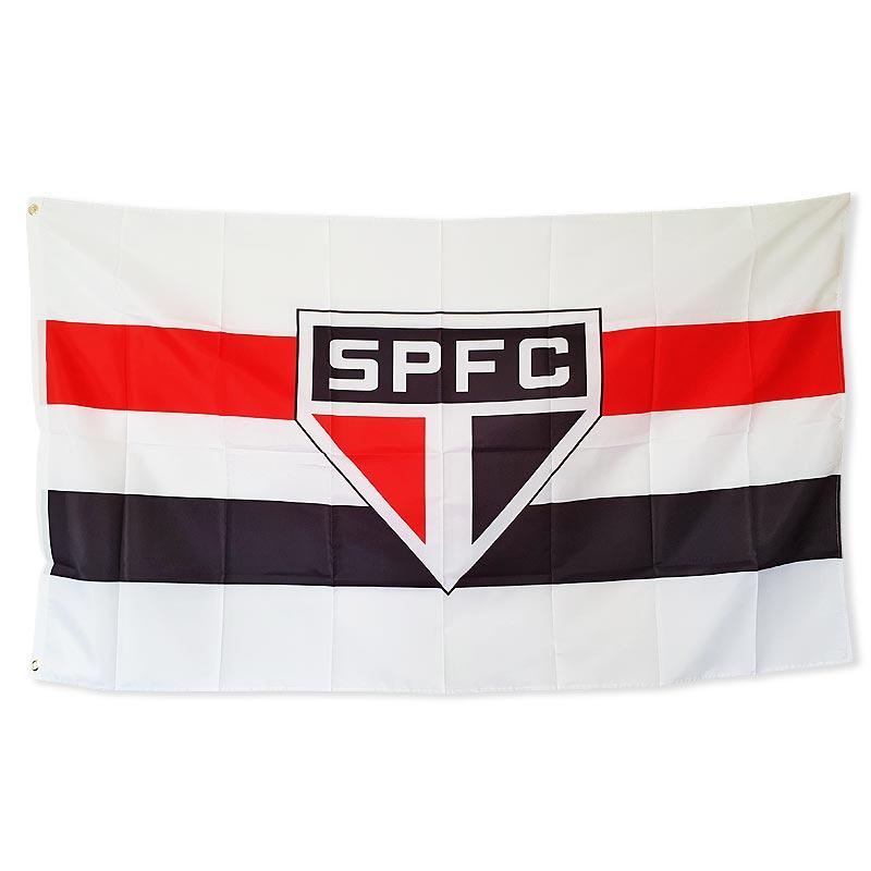 サンパウロFCフラッグ【SAO PAULO FC】エンブレムデザイン