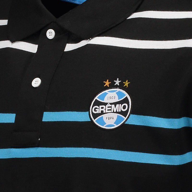 グレミオ 公式ボーダーポロシャツ GREMIO ブラック